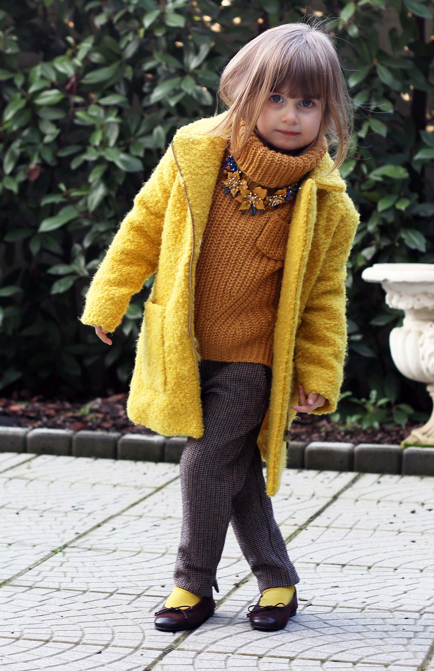 cozy style zara kids cappotto kiabi kids ballerine le prosperine - fashion kids italia gaia masseroni