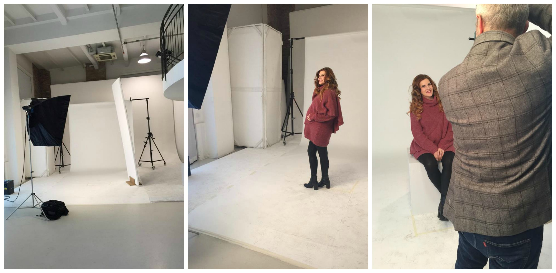 elisabetta bertolini fashion blogger incinta shooting fotografico capelli pantene