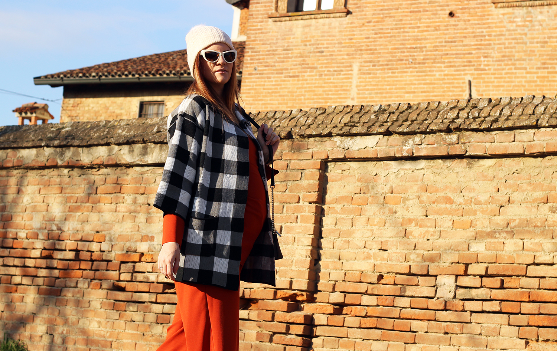 elisabetta bertolini outfit gravidanza fashion blogger italiane ovs people gennaio