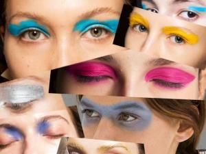 Make Up occhi colori trends primavera estate 2016