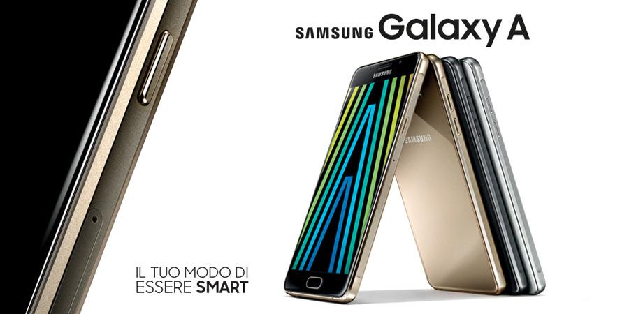 nuovi smartphone samsung galaxy serie A