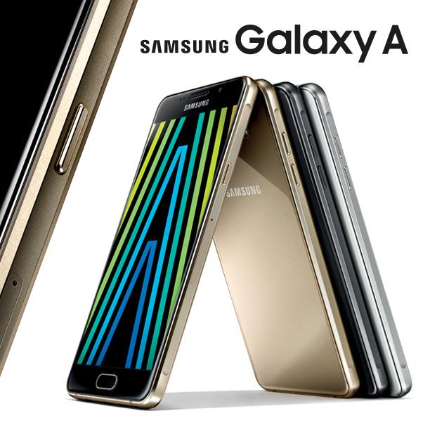 nuovi smartphone samsung galaxy A5 e A3