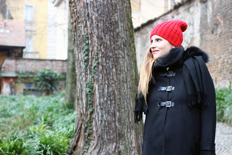 elisabetta bertolini fashion blogger incinta cappotto premaman envie de fraise italia moda gravidanza