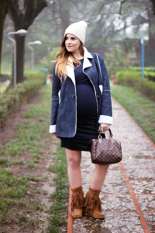 elisabetta bertolini fringe boots in gravidanza moda donna premaman saldi