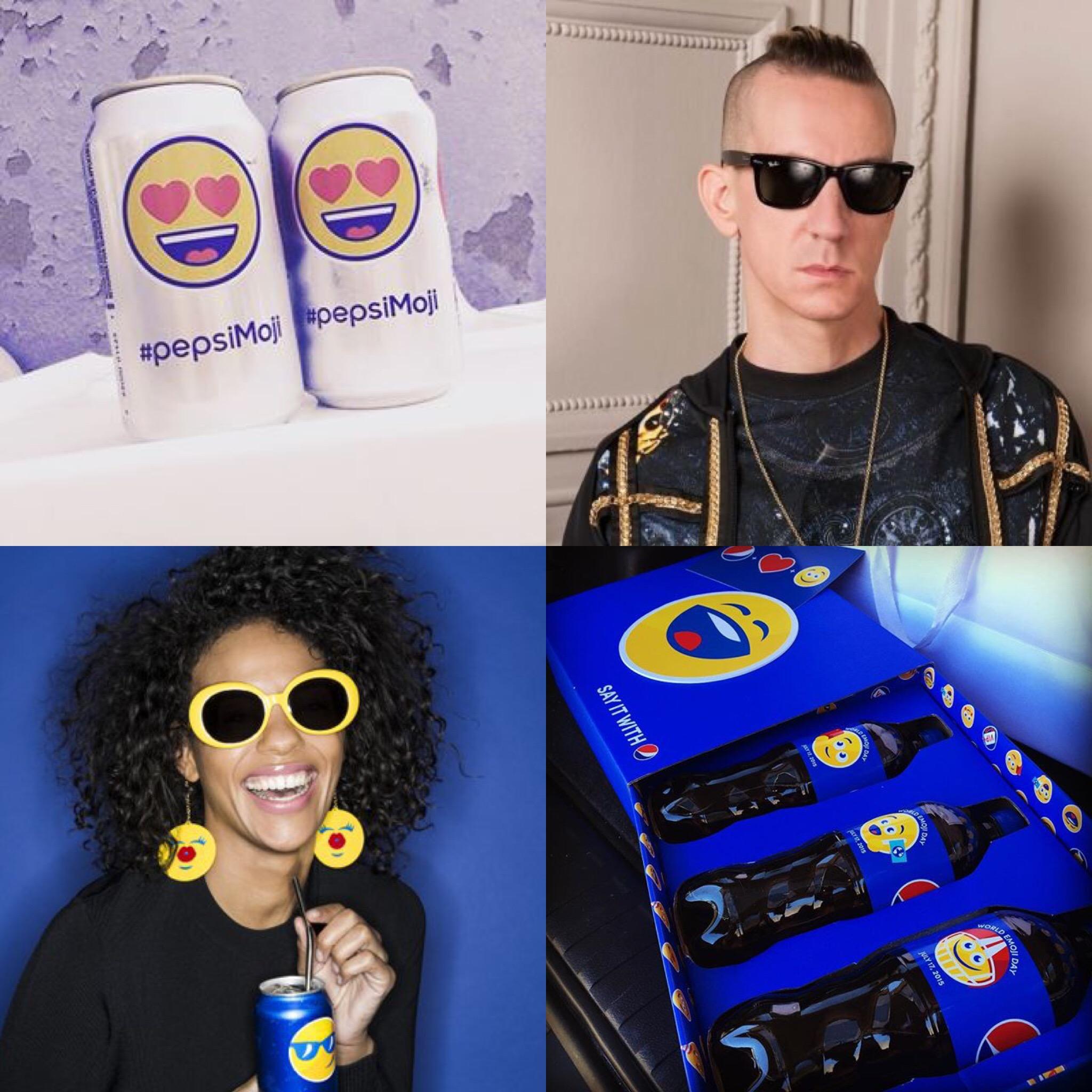 PepsiMoji capsule collection elkann Jeremy Scott e Pepsi