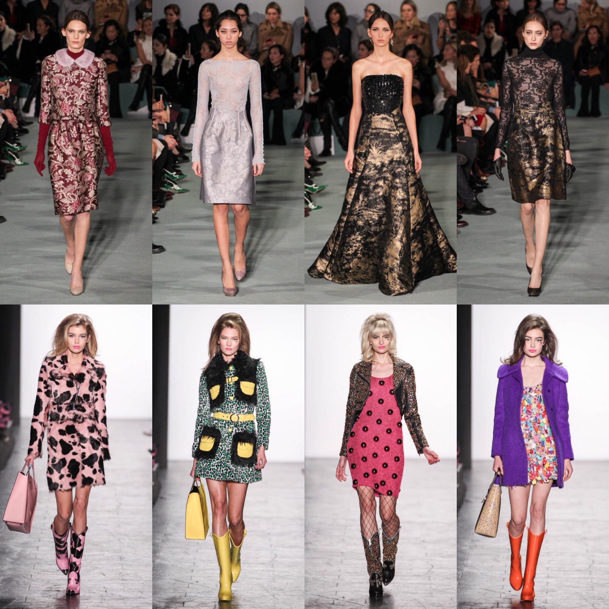 New York fashion week Jeremy Scott e Oscar de la Renta moda autunno inverno 2016