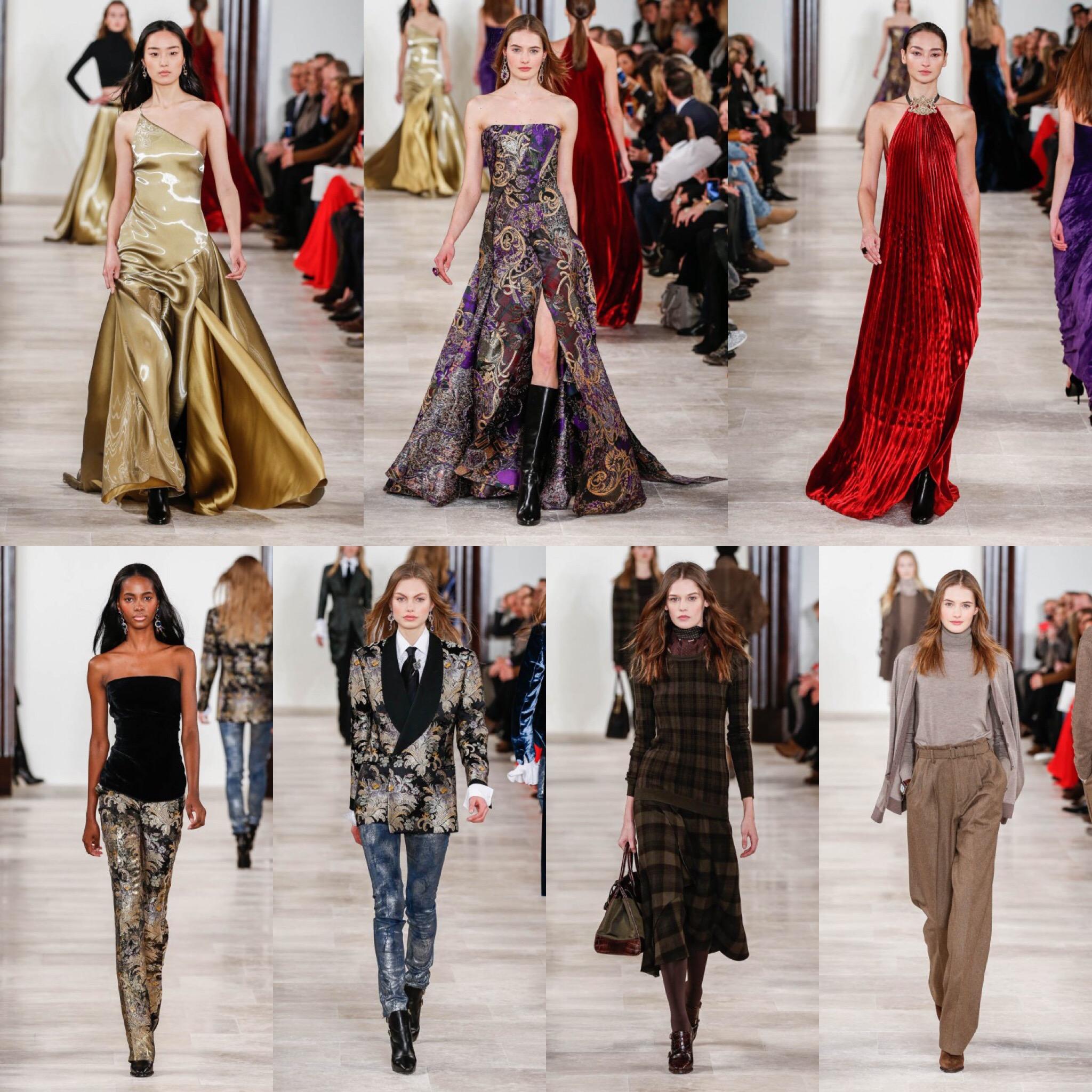 Ralph lauren moda donna nyfw AI2016