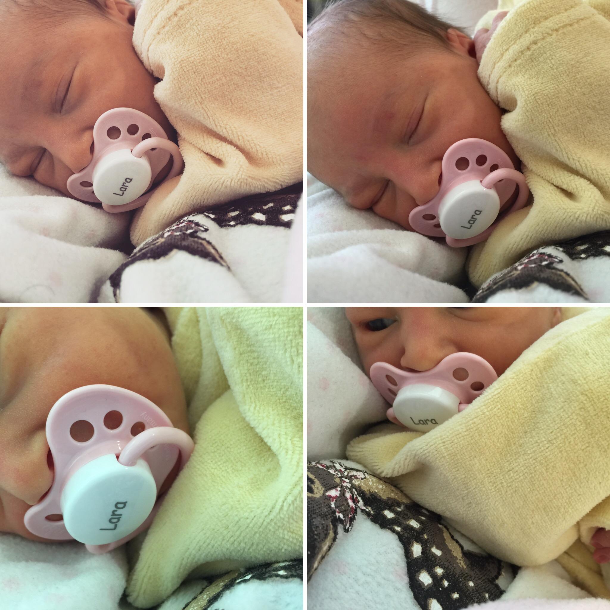 Lara MASSERONI ciuccio personalizzato per neonato tutete.com