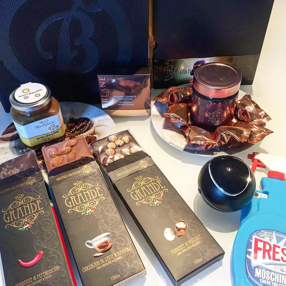 winter blogger box grande cioccolato