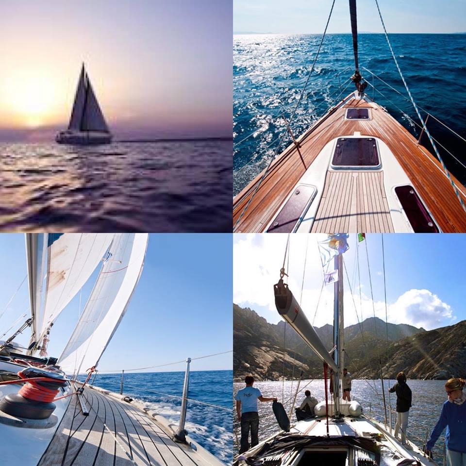abbigliamento nautico da barca a vela