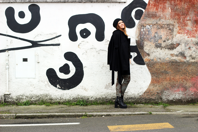 elisabetta bertolini fashion blogger italiane platform boots e leggings animalier