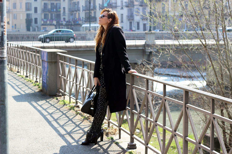 elisabetta bertolini fashion blogger look pois primavera 2016
