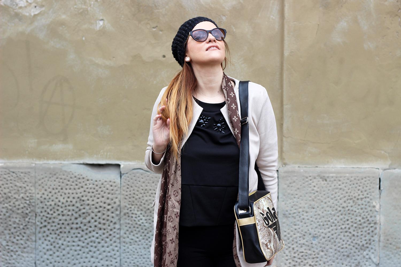 felpa gioiello oroblu abbigliamento donna elisabetta bertolini fashion blogger italiane