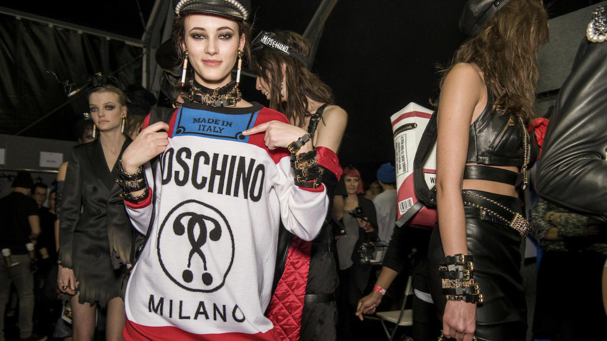 Fashion KILLS Moschino jeremy scott capsule collection fw2016