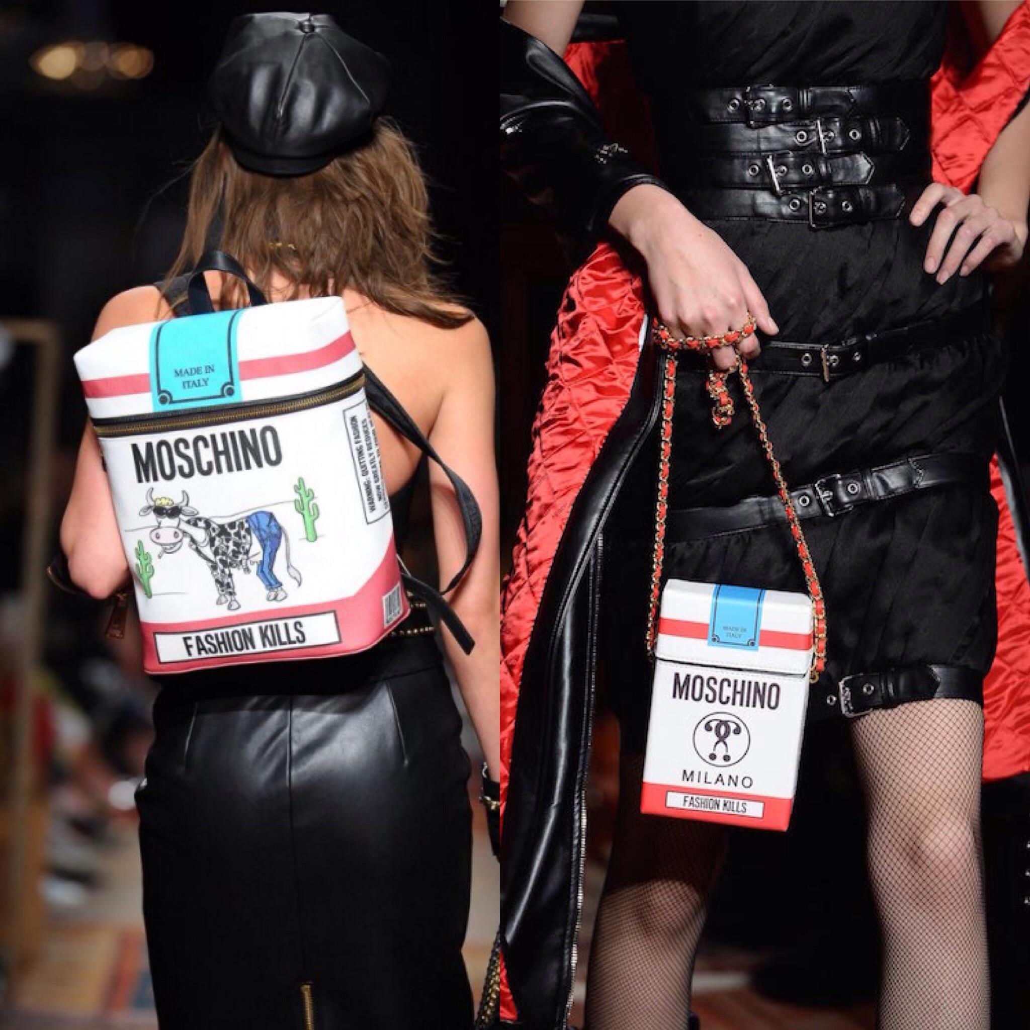 Fashion KILLS jeremy scott per Moschino fw2016