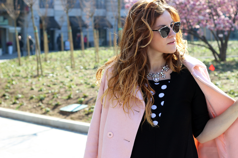 kélis fashion maglia a pois collezione pe2016 spring look outfit elisabetta bertolini fasion blogger italiane