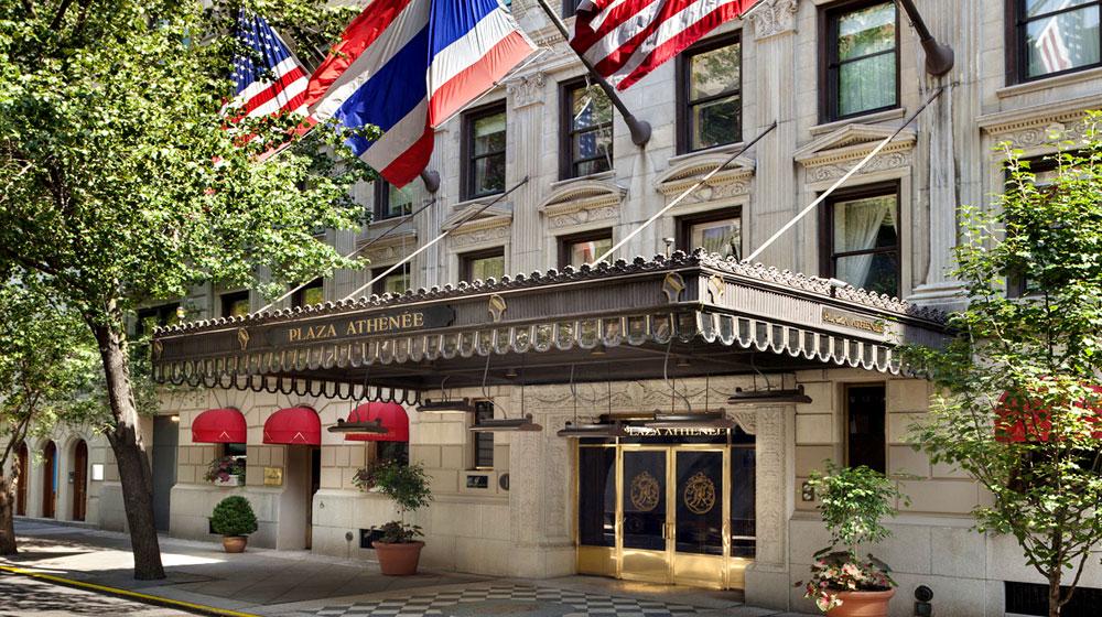 l' Hotel Plaza Athénée a New York valmont spa