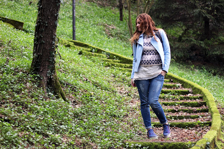 total look bighet fashion spring look jeans perle elisabetta bertolini fashion blogger abbigliamento donna outfit primavera