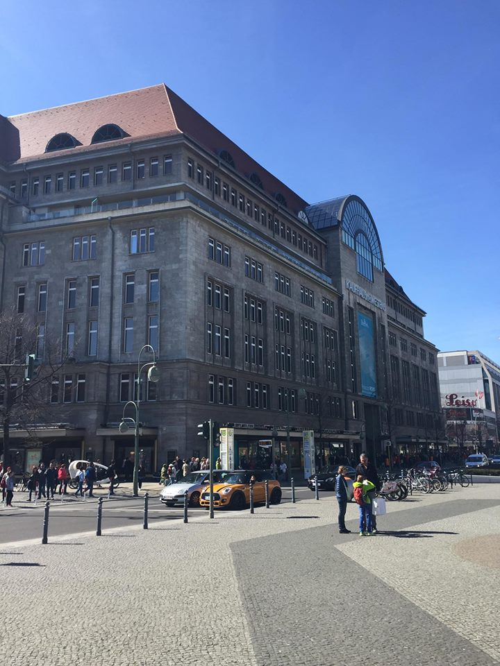 KaDeWe shopping mall berlino