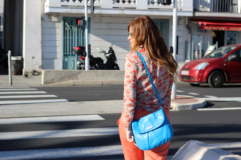 arancio abbigliamento donna total look promod colori primavera estate 2016