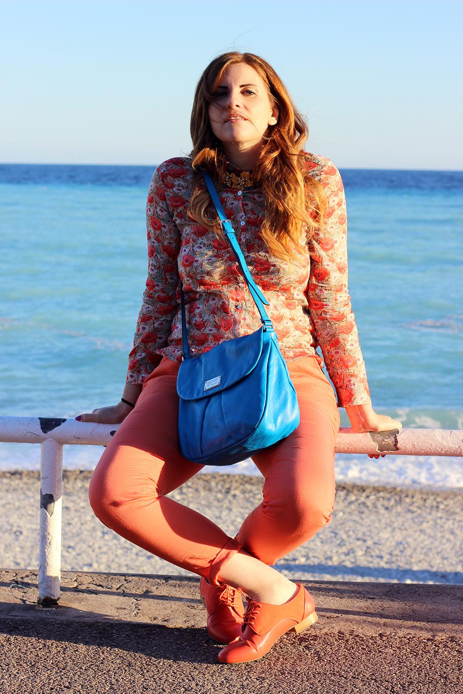 elisabetta bertolini fashion blogger italiane lungo mare di nizza costa azzurra