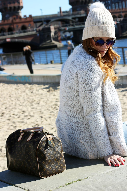 fashion blogger elisabetta bertolini easy wear louis vuitton speedy bag
