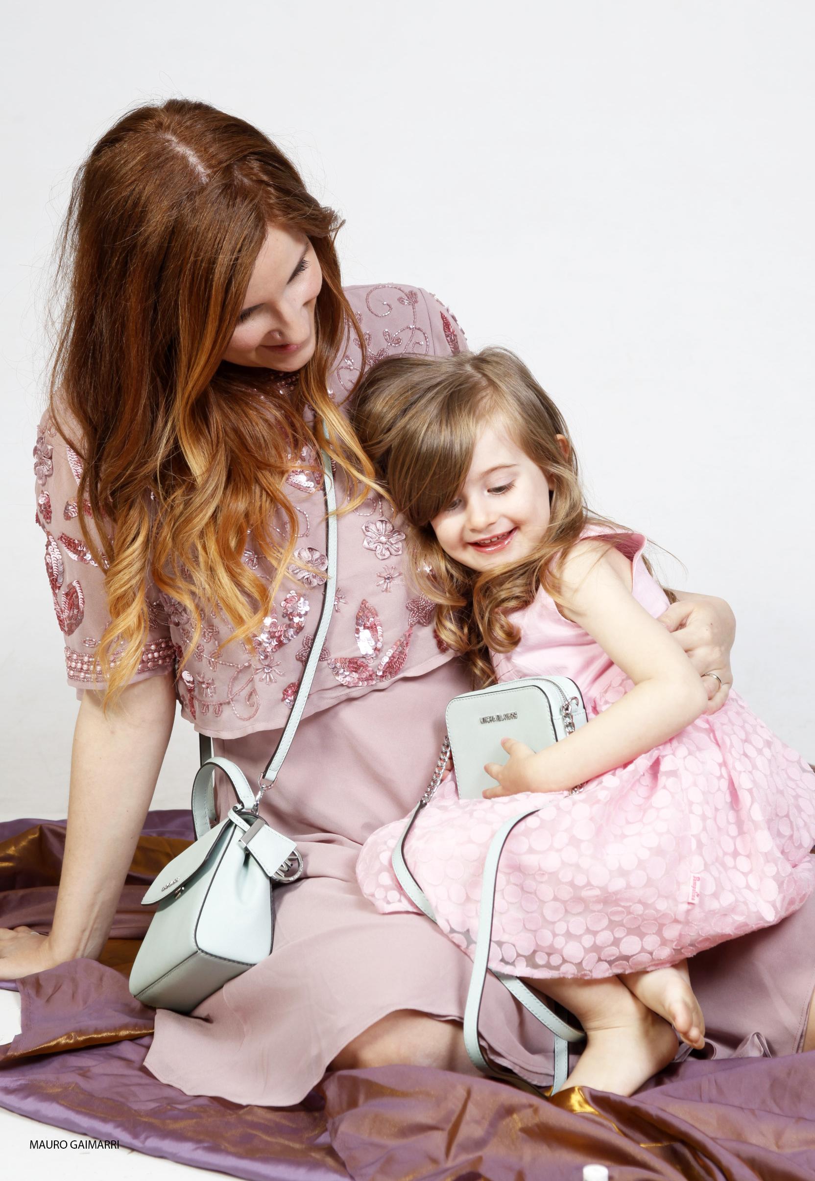 look per mamma e figlia abiti rosa su zalando