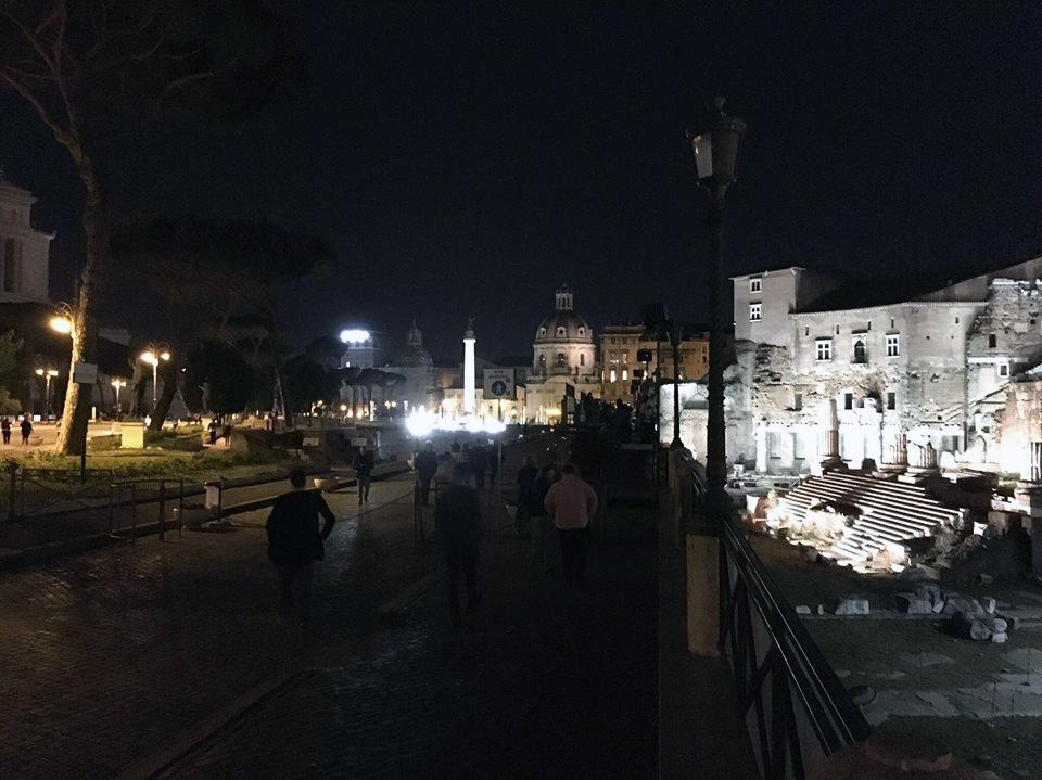 strada fori imperiali roma
