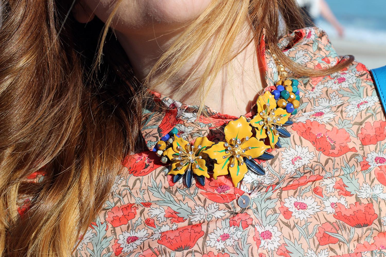 tendenze fiori collane floreali blusa promod