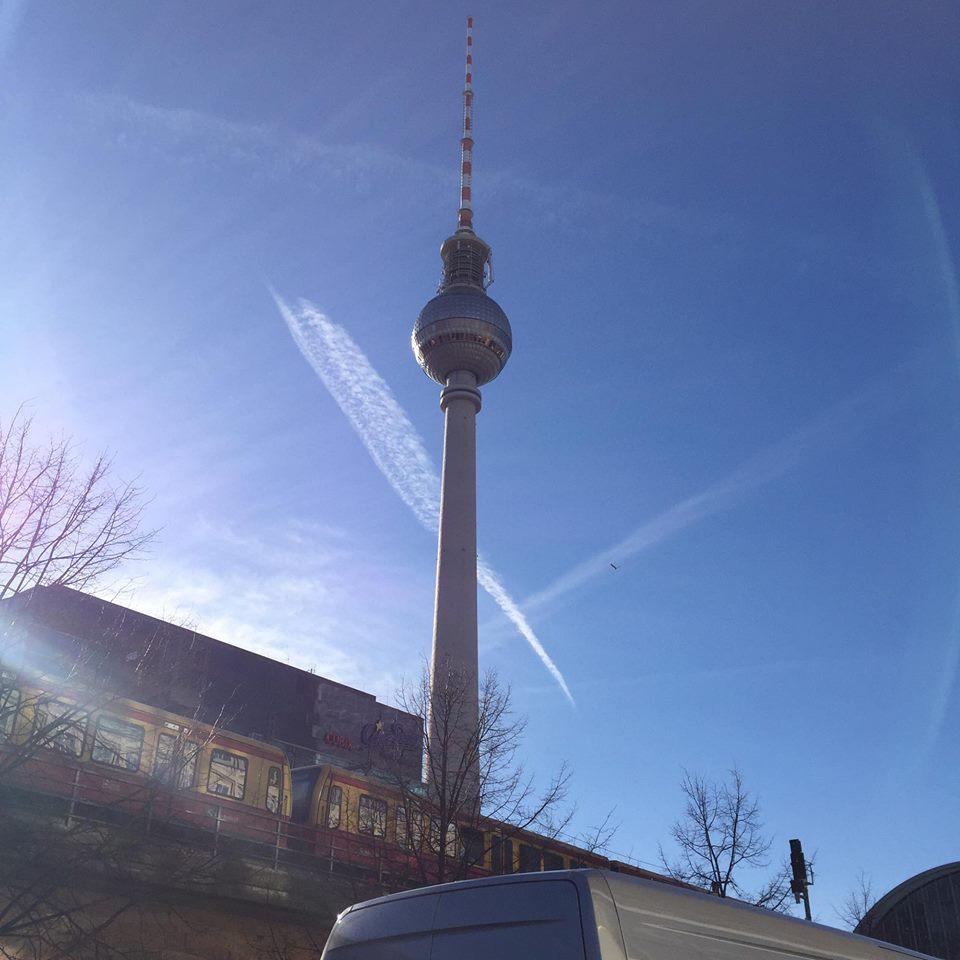 torre della televisione Berlino