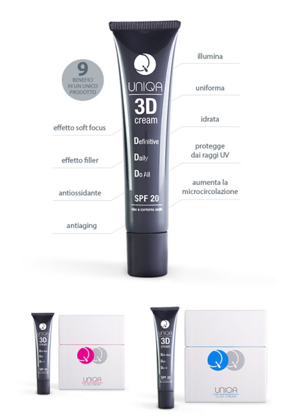 uniqa-3d-cream- nove benefici