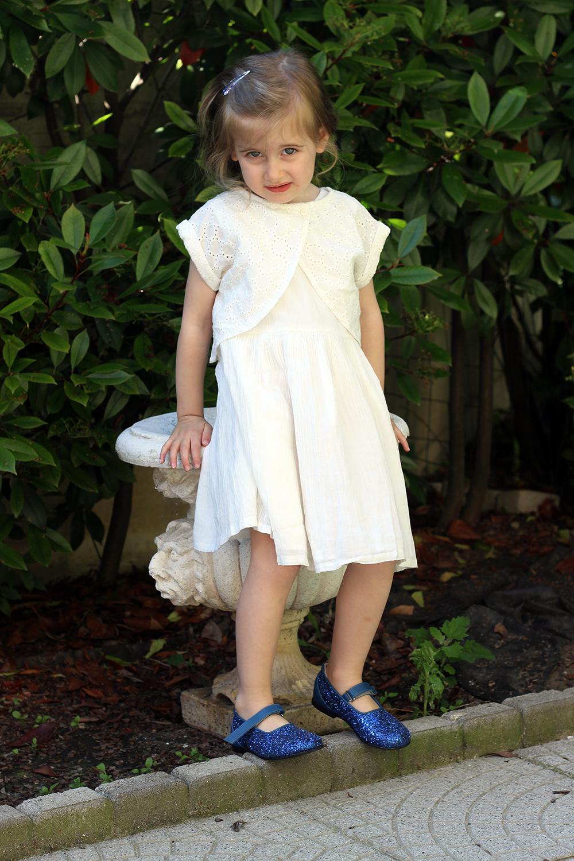 abito bianco bimba kiabi