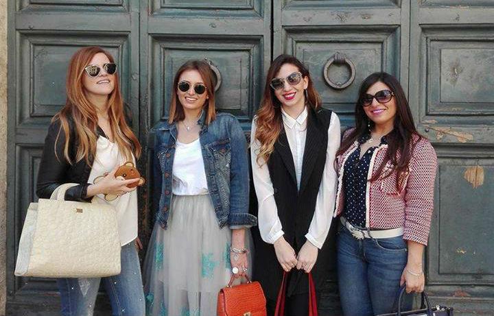 fashion blogger italiane roberta fusco elisabetta bertolini anna pernice diana de lorenzi alla conferenza di loreal roma