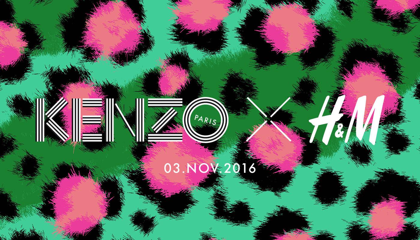 KENZO per H&M preview