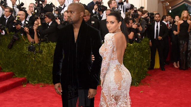 Kim Kardashian look Met Galá 2016