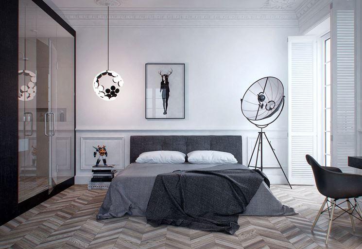 lampadari camera da letto