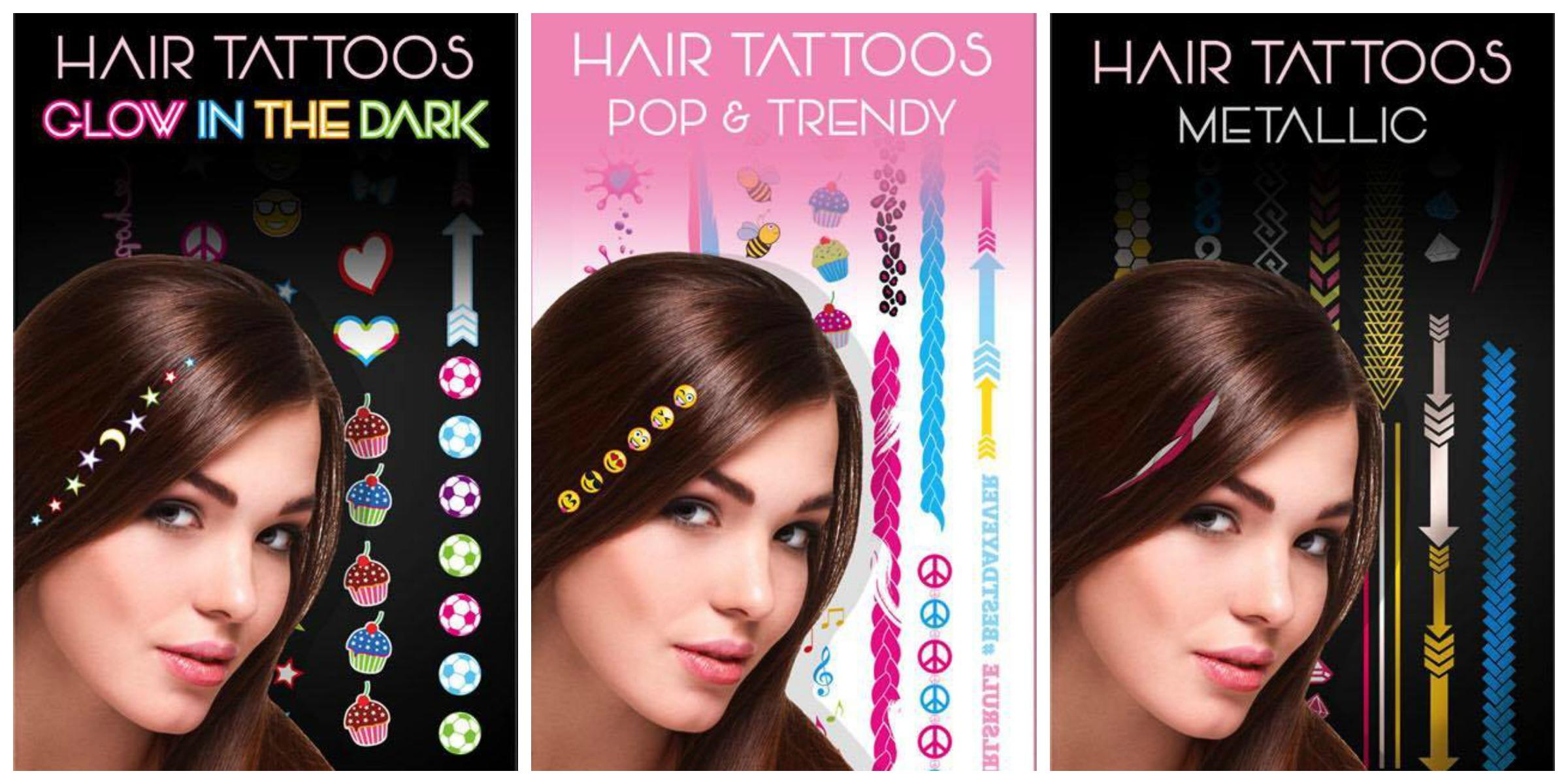 maddyloo line tatuaggi per capelli hair tattoos