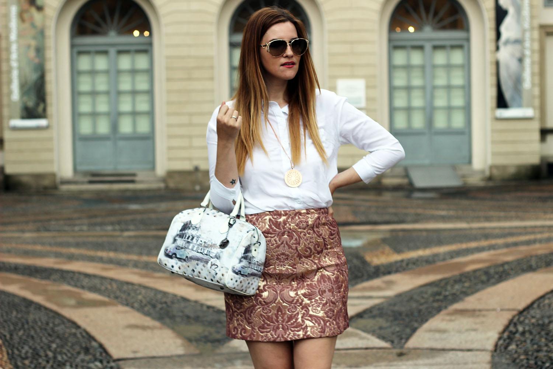 elisabetta bertolini fashion blogger gonna rosa barocca