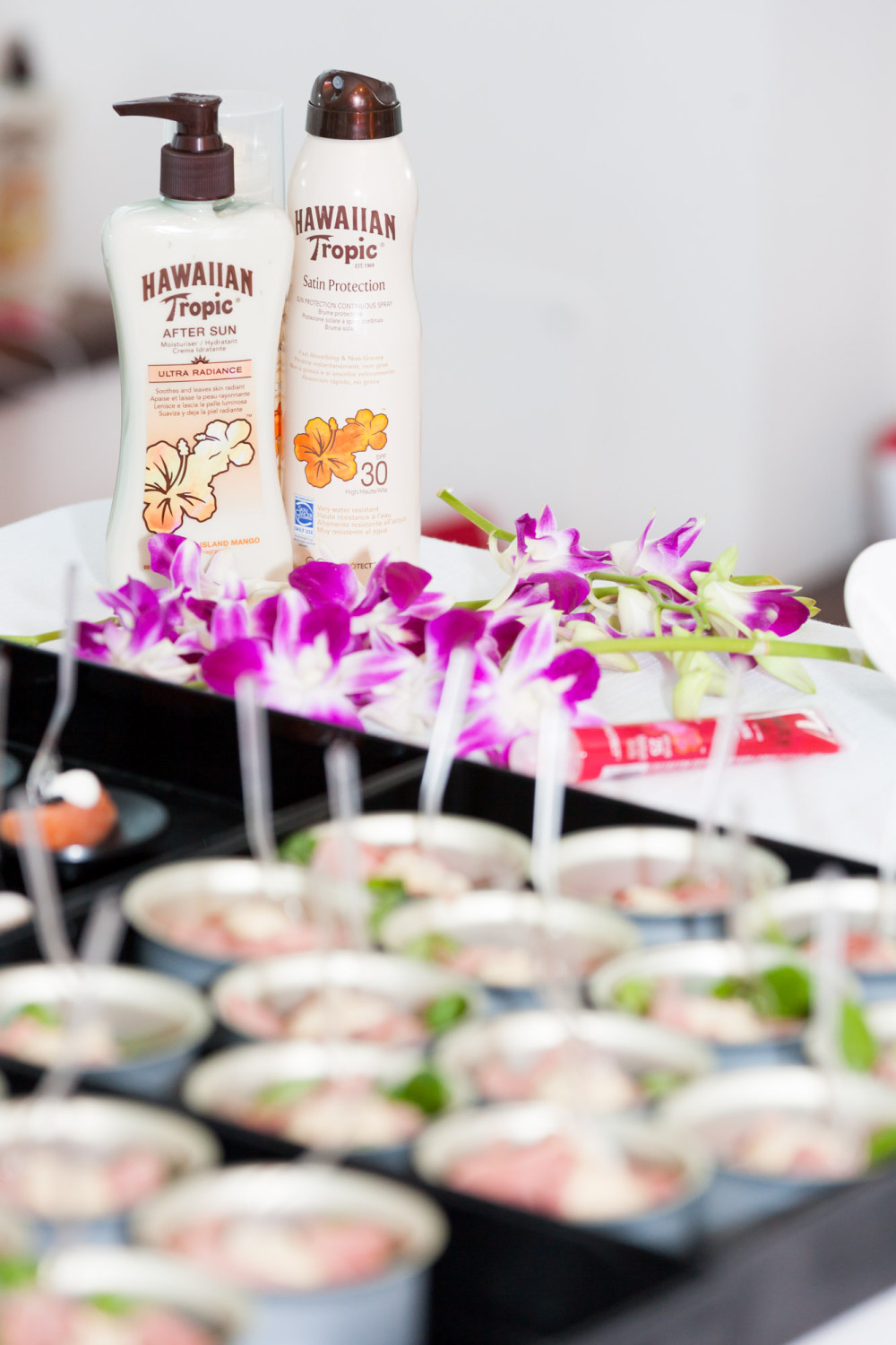 CREME PROTEZIONE SOLARE HAWAIIAN TROPIC EVENTO PRESS DAY