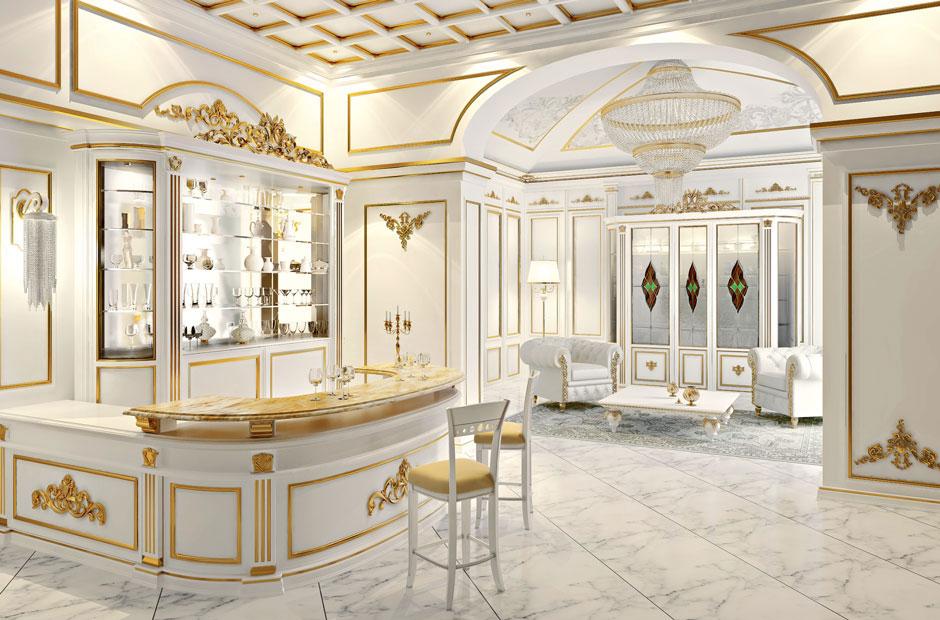 Design stile le regole d oro nell arredamento for Arredamento classico lusso