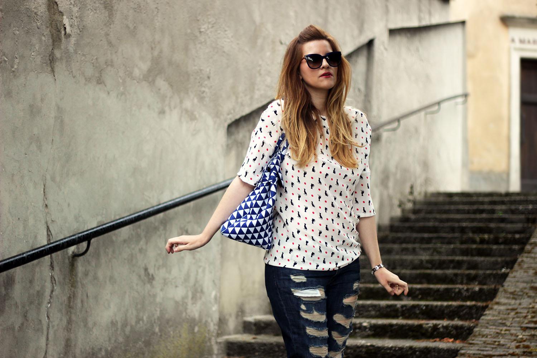 elisabetta bertolini casual look outfit fashion blogger italiane