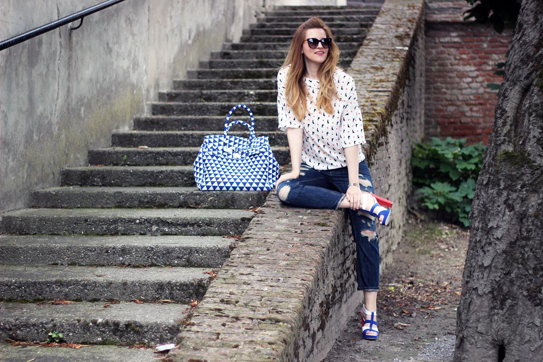 elisabetta bertolini fashion blogger firma la collezione pe2016 di vigevano shoes blogger collection