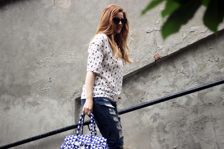 elisabetta bertolini jeans strappati mango save my bag modello weekender