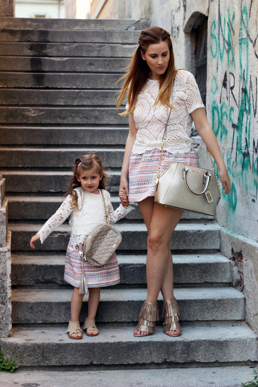 elisabetta bertolini look estivo mamma e figlia moda fashion blogger italiane