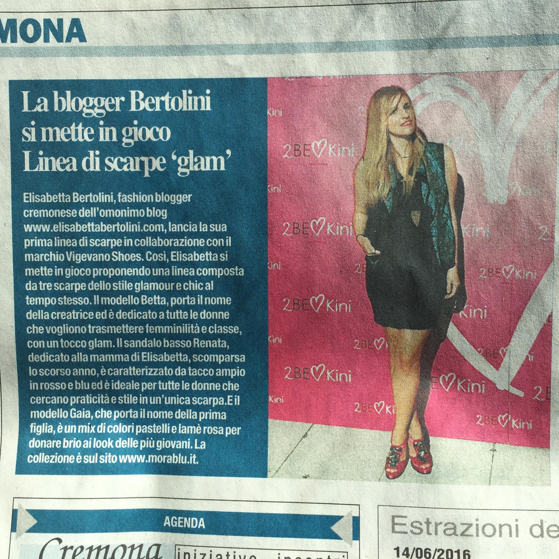 Elisabetta Bertolini firma la sua collezione per vigevano Shoes