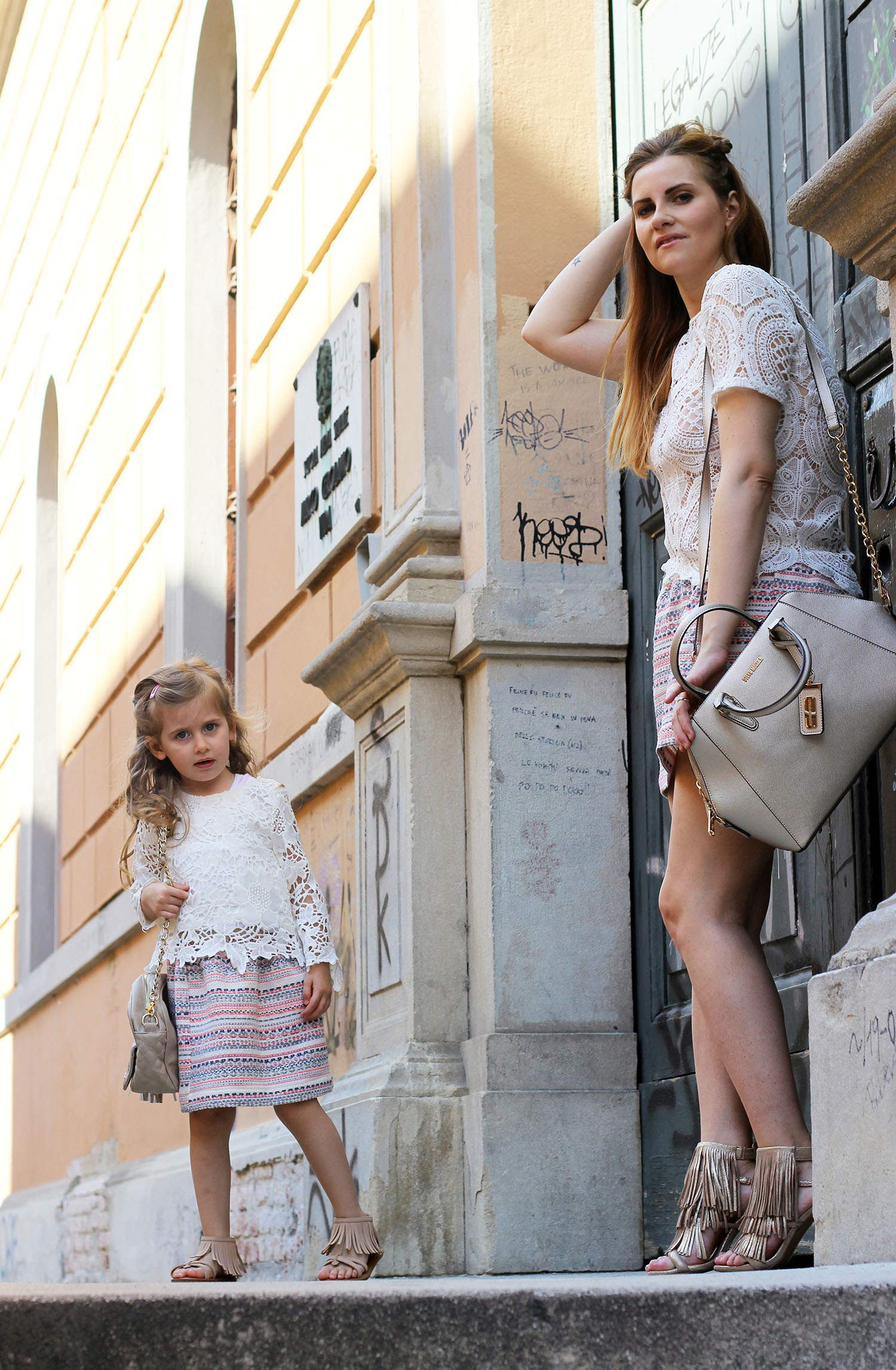 look mamma e figlia envie de fraise family look