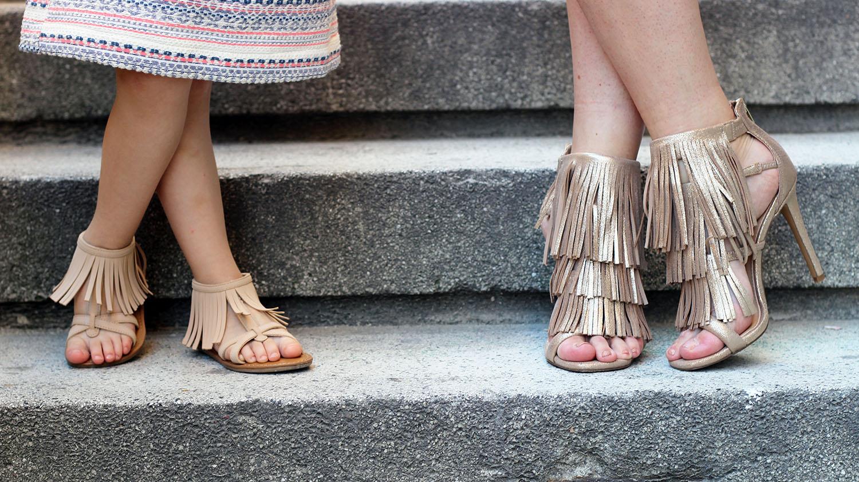 sandali con le frange donna sandali con le frange bimba zalando