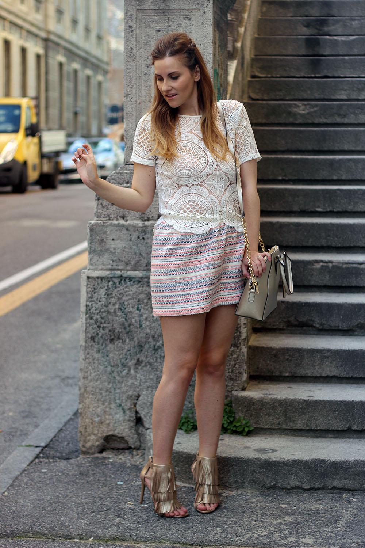 sandali frange e borsa steve madden fashion blogger italiane elisabetta bertolini