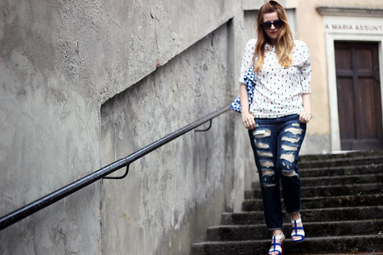 shooting fashion blog effetto movimento editoriale indossato elisabetta bertolini shoes