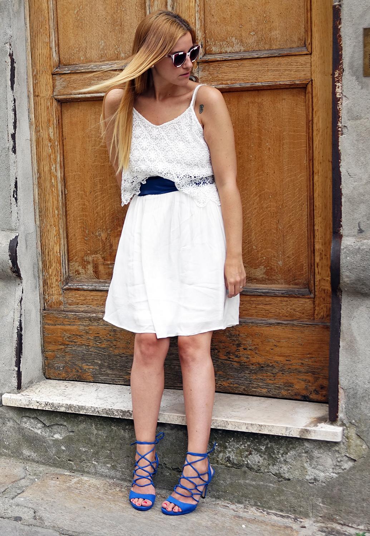 outfit_abito_bianco_laceup_bertolini_blogger